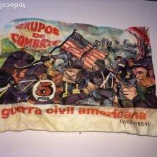 Figuras de Goma y PVC: SOBRE MONTAPLEX GRUPO DE COMBATE DEL NORTE GUERRA CIVIL AMERICANA - SOBRE CERRADO ES EL DE LA FOTO. Lote 122547343