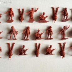 Figuras de Goma y PVC: MONTAPLEX LOTE DE 22 SOLDADOS GRANDES. Lote 122548227