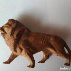 Figuras de Goma y PVC: LEÓN EN GOMA DE OMO. Lote 122550471