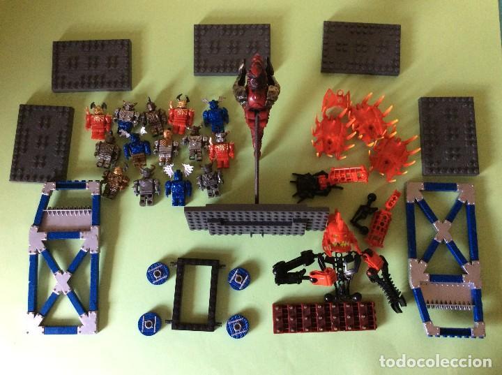 LOTE DE PIEZAS LEGO (Juguetes - Figuras de Goma y Pvc - Otras)