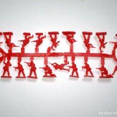 Figuras de Goma y PVC: MONTAPLEX 1 COLADA DE SOLDADOS CHINA POPULAR DEL SOBRE Nº 161 - COLOR ROJO. Lote 146931889
