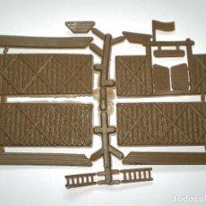Figuras de Goma y PVC: MONTAPLEX 1 COLADA DEL FORT SHERIDAN - COLOR MADERA - KIOSKO AÑOS 80´S. Lote 164899465