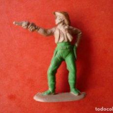 Figuras de Goma y PVC: FIGURA INDIO EN GOMA REAMSA. Lote 122655851