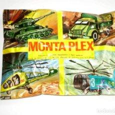 Figuras de Goma y PVC: SOBRE MONTAPLEX Nº 404 MODELOS A ESCALA - SOBRE CERRADO. Lote 146931917