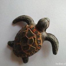 Figuras de Goma y PVC: FIGURA FAUNA MARINA TORTUGA JECSAN GOMA. Lote 122807791
