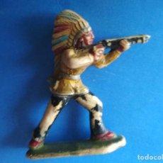 Figuras de Goma y PVC: FIGURA INDIO CLAIRET 54MM. Lote 122827271