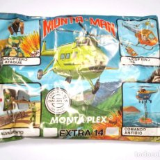 Figuras de Goma y PVC: SOBRE MONTAPLEX EXTRA Nº 14 MONTAMAN HELICÓPTERO - SOBRE CERRADO. Lote 172231224