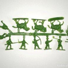 Figuras de Goma y PVC: MONTAPLEX 1 COLADA DE IVANHOE DEL SOBRE Nº 139 - COLOR VERDE. Lote 192233532