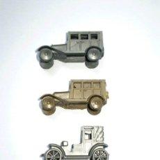Figuras de Goma y PVC: LOTE DE 3 COCHES DUNKIN PROMOCIONALES CONGUITOS. Lote 122882019