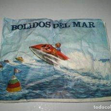 Figuras de Goma y PVC: SOBRE MONTAPLEX BÓLIDOS DEL MAR - SOBRE CERRADO. Lote 122967995