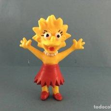 Figuras de Goma y PVC: FIGURA PVC LISA SIMPSON. AÑO 1991. JUGUETE LOS SIMPSONS. Lote 122979303