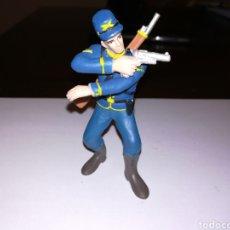 Figuras de Goma y PVC: COMANSI FIGURA PVC SOLDADO FEDERAL INDIOS Y VAQUEROS. Lote 122994479