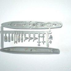 Figuras de Goma y PVC: MONTAPLEX - COLADA BARCO CONQUISTADOR Nº 433 - GRIS CLARO. Lote 171684458