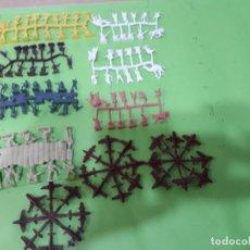 Figuras de Goma y PVC: MONTAPLEX- LOTE DE 10 VARIAS NACIONES Y AVIONES MINI- FABRICADO POR EJUSA. Lote 123025067