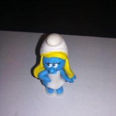 Figuras de Goma y PVC: PEYO PITUFO PITUFOS FIGURA DE PVC PITUFA PITUFINA SMURF SMURFS. Lote 123069351