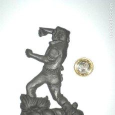 Figuras de Goma y PVC: FIGURA VAQUERO COWBOY OESTE - LA ILUSIÓN ESJUSA MONTAPLEX - KIOSKO AÑOS 70´S. Lote 123356415