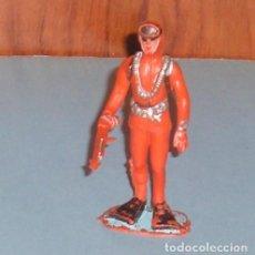 Figuras de Goma y PVC: FIGURAS DE PLÁSTICO LOTE REAMSA COMANSI JECSAN SUBMARINISTA. Lote 123412651