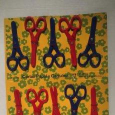Figuras de Goma y PVC: PACK BLISTER TIJERAS AÑOS 70. Lote 123549211