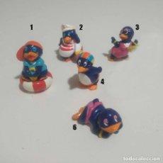 Figuras Kinder: LEER* PINGU PLAYA PINGUI PLAYA KINDER FIGURAS MONOBLOC FERRERO HUEVO SORPRESA FIGURA. Lote 112870283