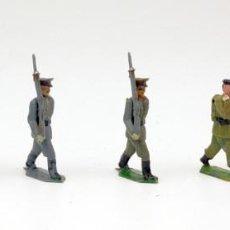 Figuras de Borracha e PVC: LOTE DE 7 SOLDADOS DESFILE TEIXIDO - SÓLO CONSERVAN UN BRAZO MOVIL. Lote 123863699
