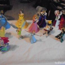 Figuras de Goma y PVC: 11 FIGURAS BULLY-BULLYLAND HADAS BLANCA NIEVES SIRENITA VER FOTOS. Lote 123972011