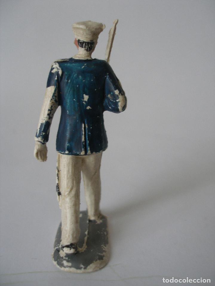 Figuras de Goma y PVC: Figura soldado desfile Pech - Foto 2 - 124024711