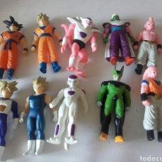 Figuras de Goma y PVC: DIEZ FIGURAS BOLA DE DRAGÓN. Lote 124037695