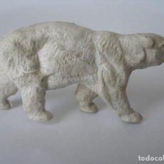Figuras de Goma y PVC: OSO POLAR GOMA DETERGENTE OMO AÑOS 60. Lote 124184763