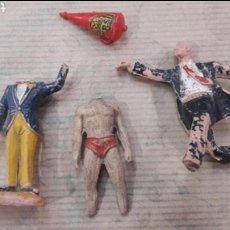 Figuras de Goma y PVC: LOTE DESPIECE ANTIGUAS FIGURAS GOMA PLÁSTICO. Lote 124193947