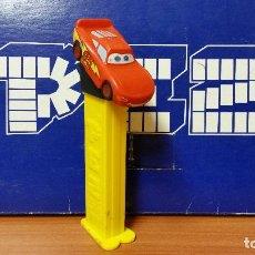 Dispensador Pez: DISPENSADOR DE CARAMELOS PEZ ( CARS ) USADO. Lote 124262195