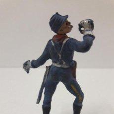 Figuras de Goma y PVC: SOLDADO FEDERAL . REALIZADO POR PECH . AÑOS 50 EN GOMA - PARA RESTAURAR. Lote 124281291