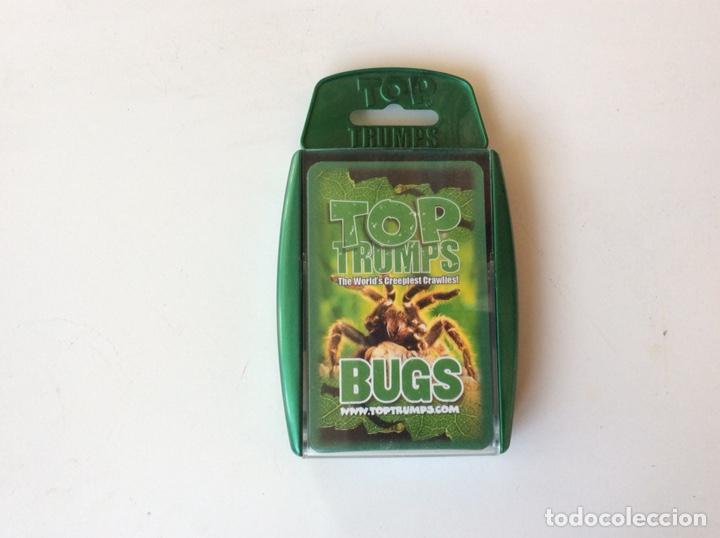 JUEGO DE CARTAS TOP TRUMPS - BUGS 33 CARTAS (Juguetes - Figuras de Goma y Pvc - Otras)