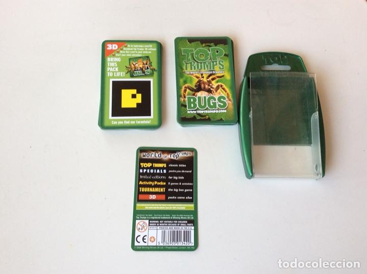 Figuras de Goma y PVC: Juego de Cartas TOP TRUMPS - BUGS 33 CARTAS - Foto 2 - 124303839