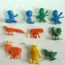 Figuras de Goma y PVC: LOTE DUNKIN. Lote 124307203