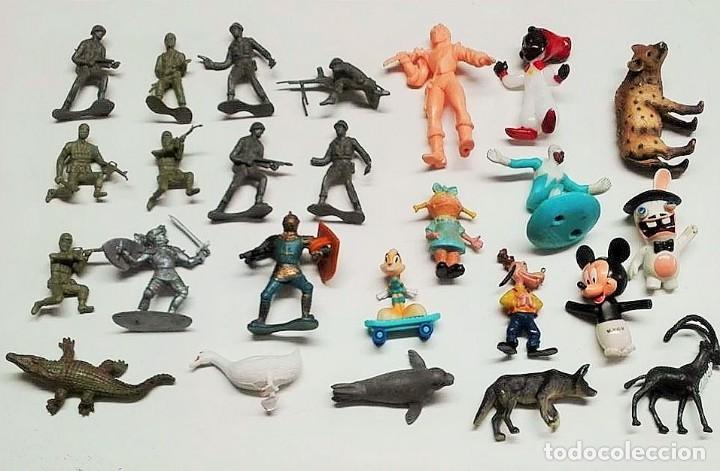 LOTE MUÑECOS (Juguetes - Figuras de Goma y Pvc - Otras)