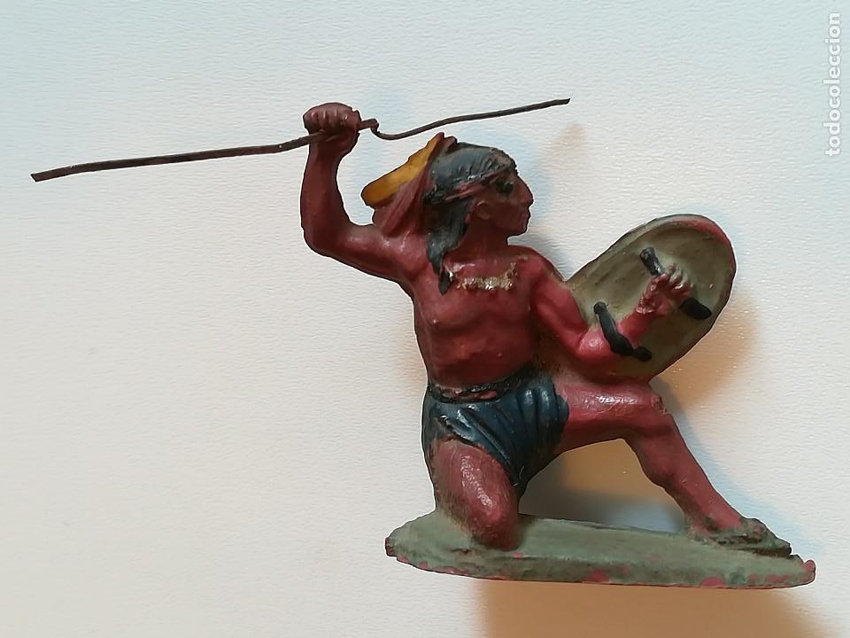FIGURA INDIO GOMA PECH HERMANOS (Juguetes - Figuras de Goma y Pvc - Pech)