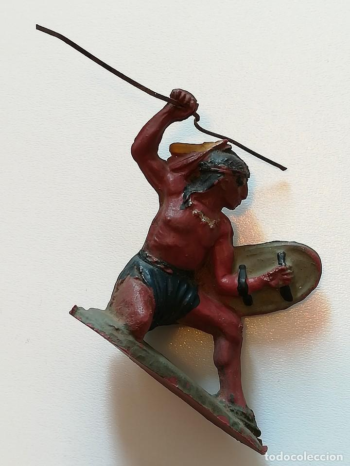 Figuras de Goma y PVC: FIGURA INDIO GOMA PECH HERMANOS - Foto 2 - 124426443