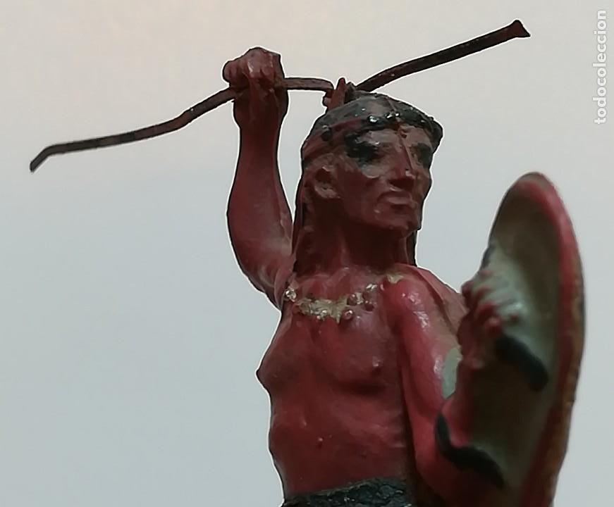 Figuras de Goma y PVC: FIGURA INDIO GOMA PECH HERMANOS - Foto 3 - 124426443