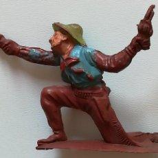 Figuras de Goma y PVC: FIGURA VAQUERO GOMA PECH HERMANOS SERIE COWBOYS 54 MM.. Lote 124427707
