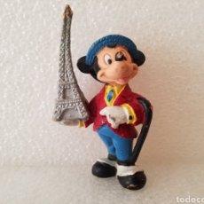 Figuras de Goma y PVC: FIGURA MICKEY MOUSE ANTIGUA DISNEY BULLYLAND MADE IN GERMANY. Lote 124549631