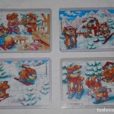 Figuras Kinder: PUZZLES KINDER SUPRISE - SERIE HANNY BUNNYN'S COMPLETA DEL AÑO DE 1996. Lote 124587675