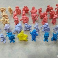 Figuras de Goma y PVC: LOTE 49 FIGURAS DUNKIN ASTERIX. Lote 124661971