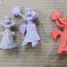 Figuras de Goma y PVC: LOTE FIGURAS BAILARINAS FINKIN ASTÉRIX. Lote 124662992