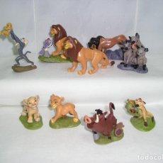 Figuras de Goma y PVC: REY LEON COLECCION DISNEY 9 FIGURAS MUÑECO PVC ARTICULO NUEVO. Lote 124663247