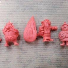 Figuras de Goma y PVC: LOTE 7 FIGURAS ASTERIX DUNKIN. Lote 124663684