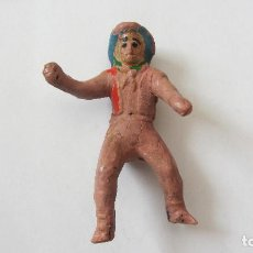 Figuras de Goma y PVC: ALCA-CAPELL-VAQUERO DE GOMA. Lote 124697547