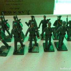 Figuras de Goma y PVC: LOTE DE 11 FIGURAS DE LA INFANTERIA ESPAÑOLA DE REAMSA. Lote 263721440