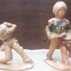 Figuras de Goma y PVC: LOTE 2 FIGURAS INDIOS REAMSA. Lote 124971899