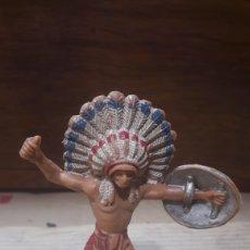 Figuras de Goma y PVC: INDIO PECH. Lote 124978020