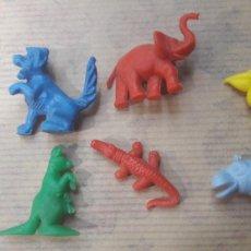 Figuras de Goma y PVC: LOTE 6 ANIMALES DUNKIN MÁS OBSEQUIO. Lote 124988260